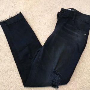 Nordstrom's Jolt black stretchy denim